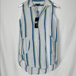 NWT For Cynthia sleeveless top size Sm.